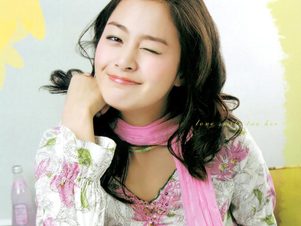 Foto Kim Tae Hee HD Wallpaper
