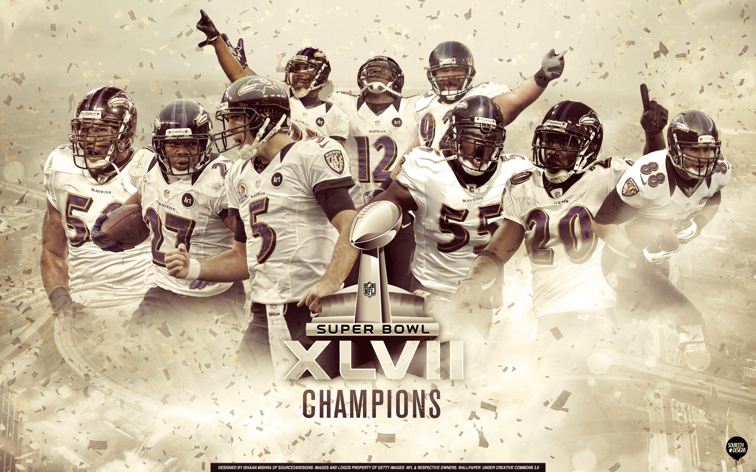 Baltimore Ravens Superbowl HD Wallpaper