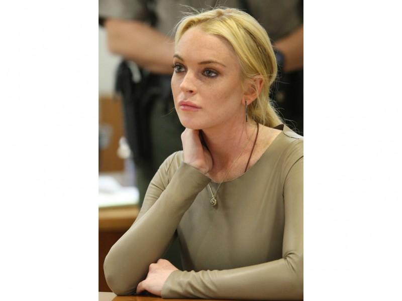 David McNew  pool The Associated Press Lindsay Lohan appears at Los Angeles HD Wallpaper