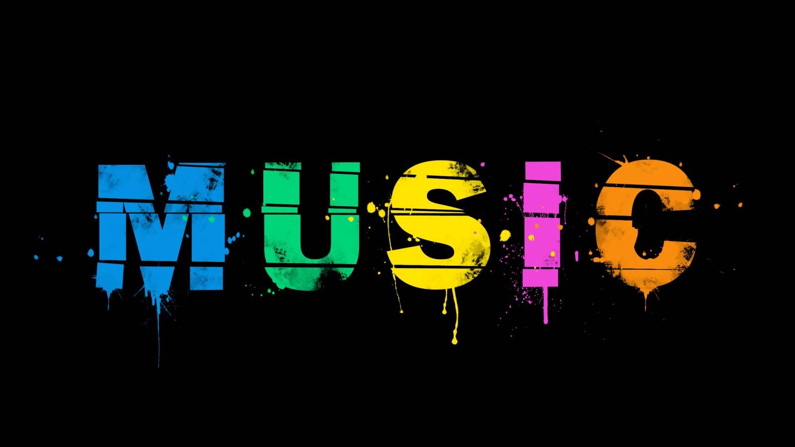 Music Splash HD Wallpaper