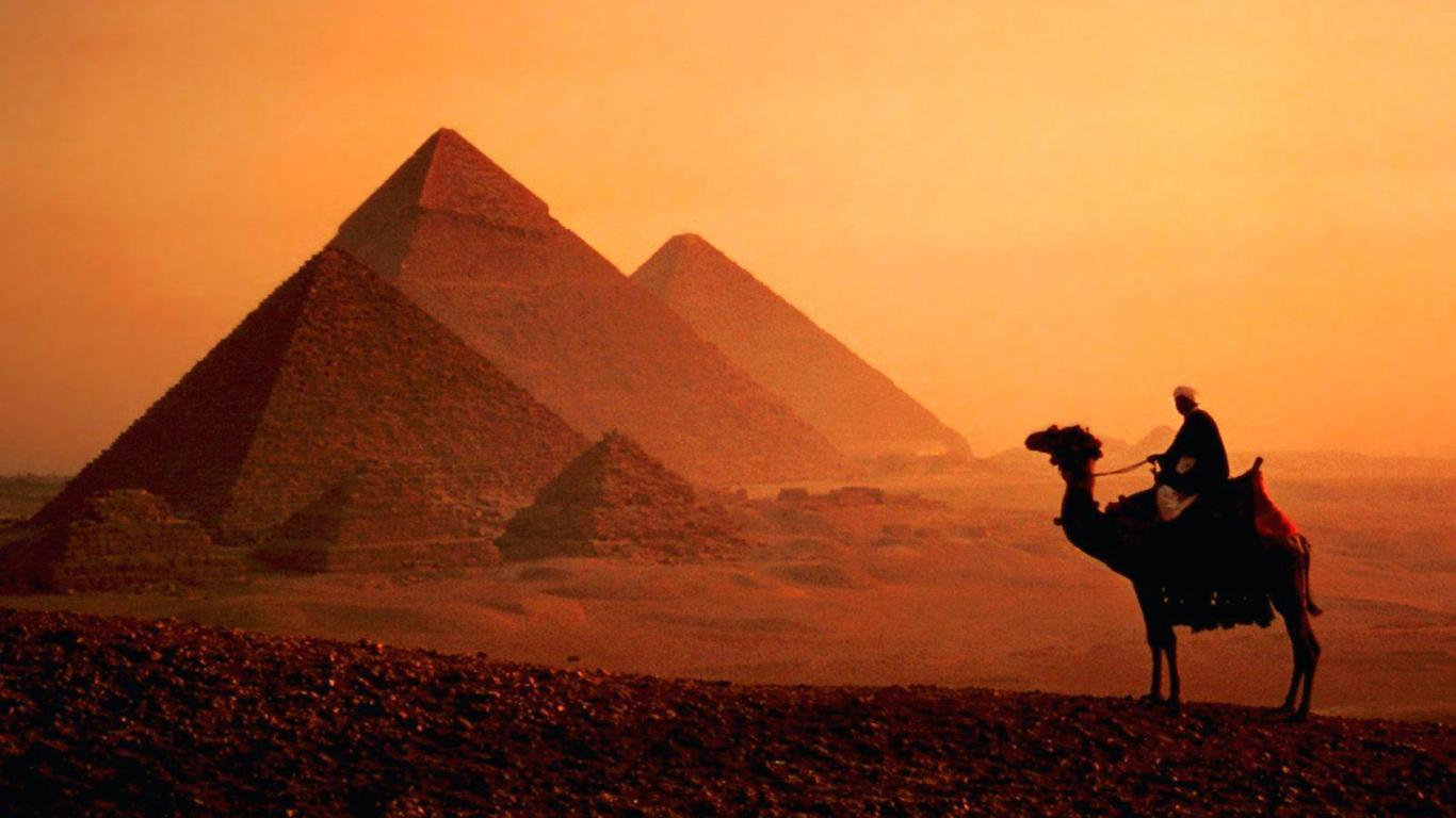 Pyramids Cairo Top Travel HD Wallpaper