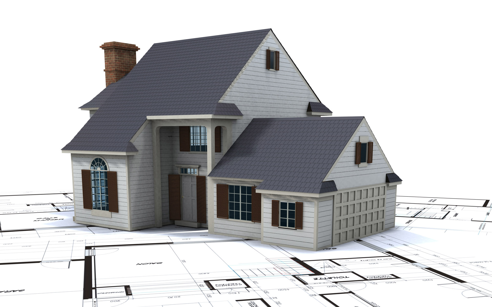 of house building design HD Wallpaper