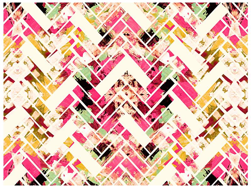 Modern Abstract Geometric Art HD Wallpaper