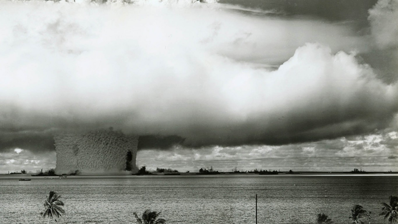 Atomic Bomb Test HD Wallpaper