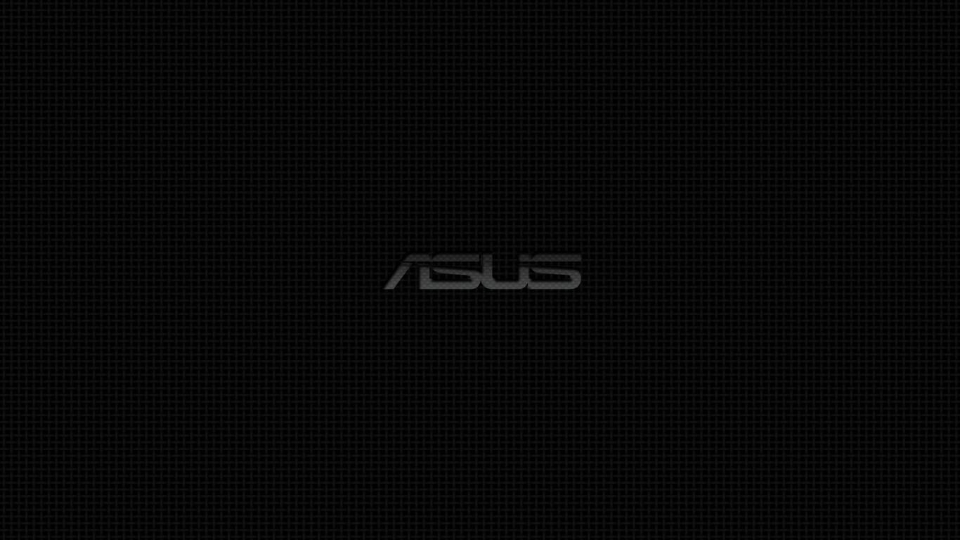 Abstract Asus And Black Full HD Wallpaper