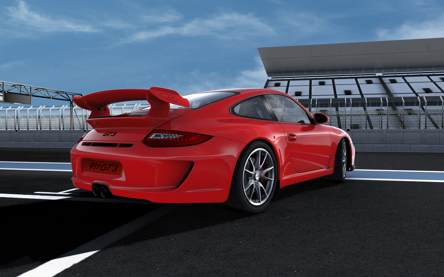 2008 Porsche 911 GT3 picture  HD Wallpaper