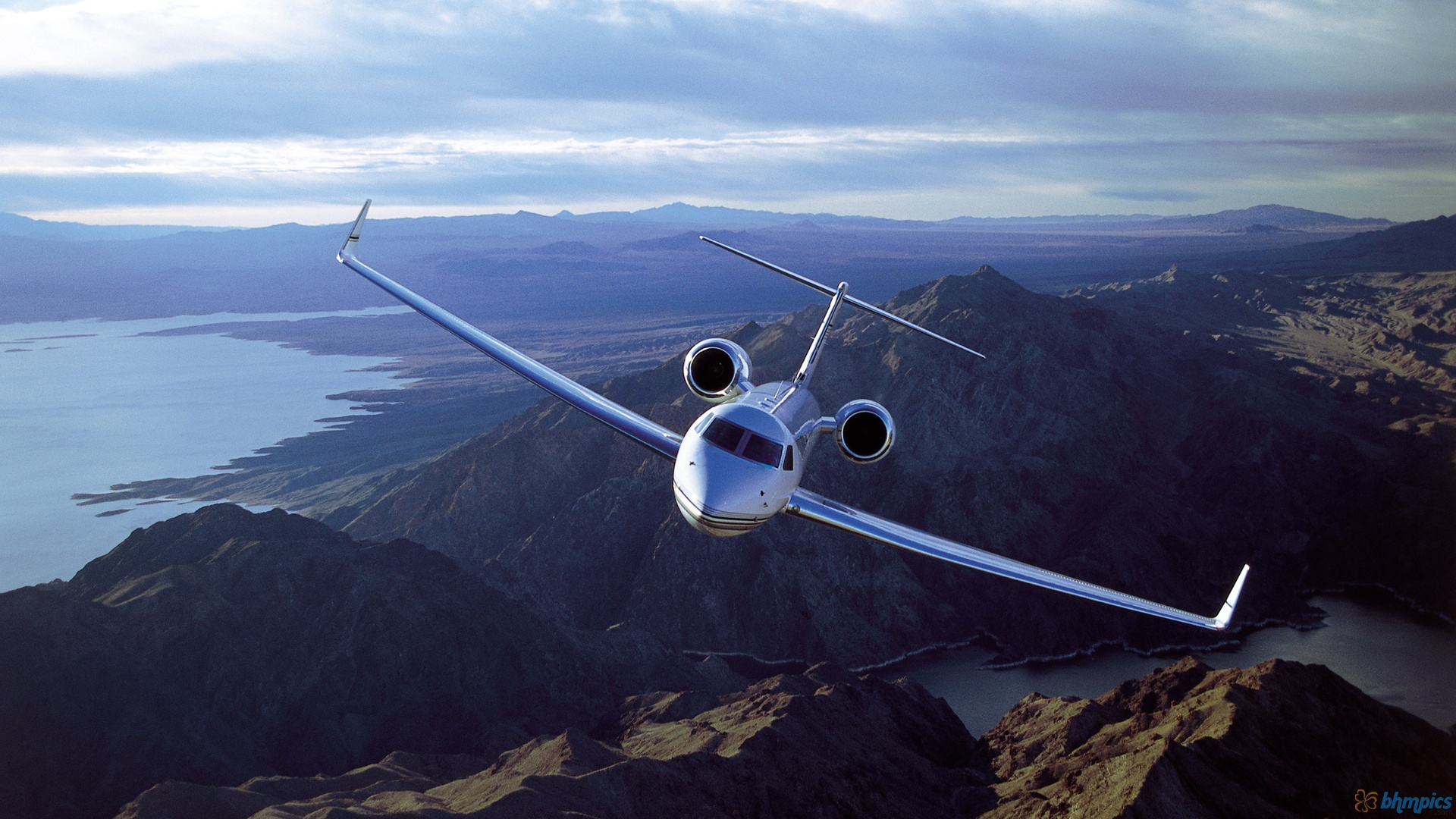 Title  Business Jet HD Wallpaper