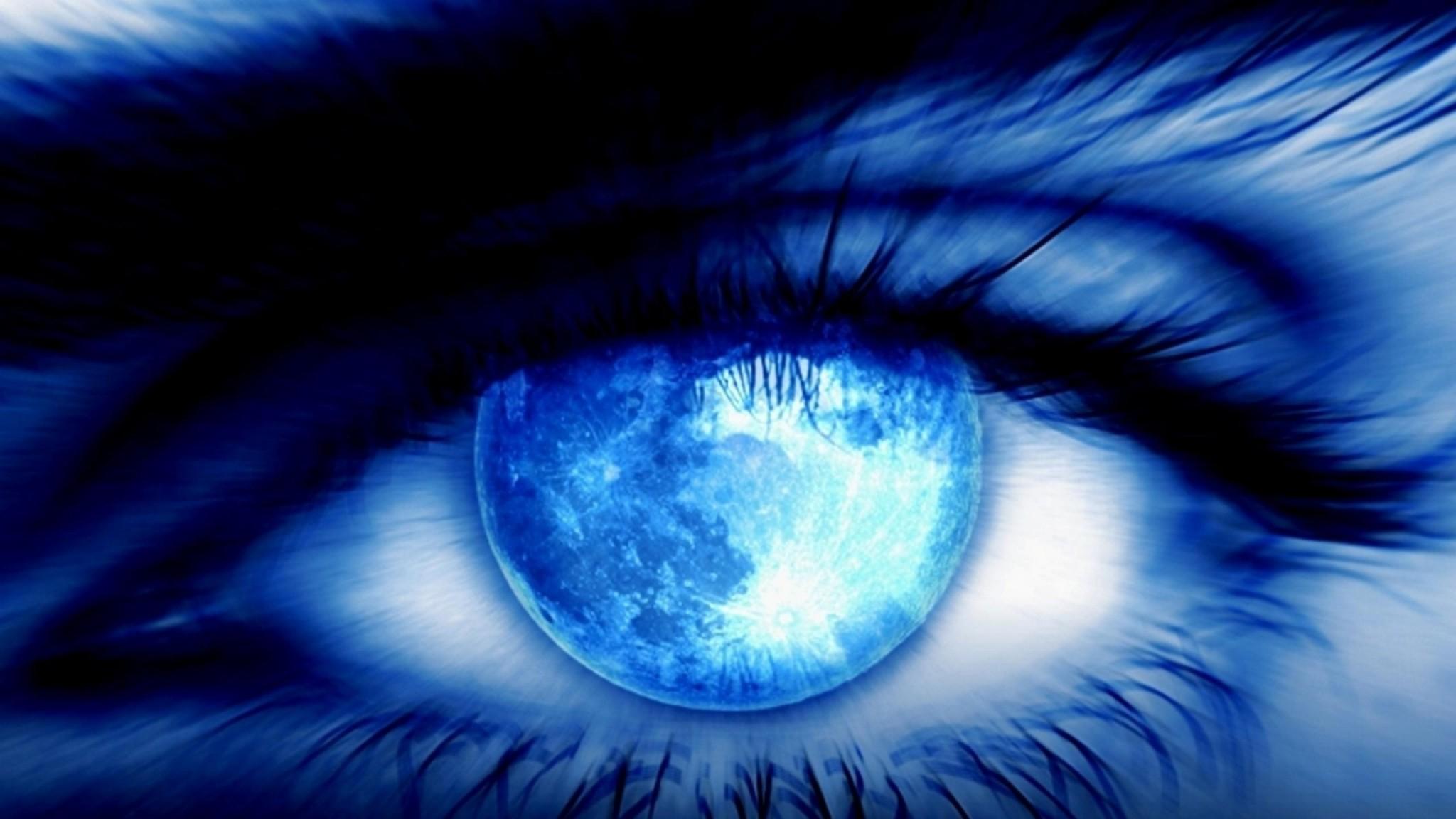 Worl3D In Eye    HD Wallpaper