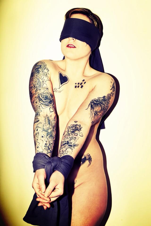Jenza Louise   Tattooed HD Wallpaper