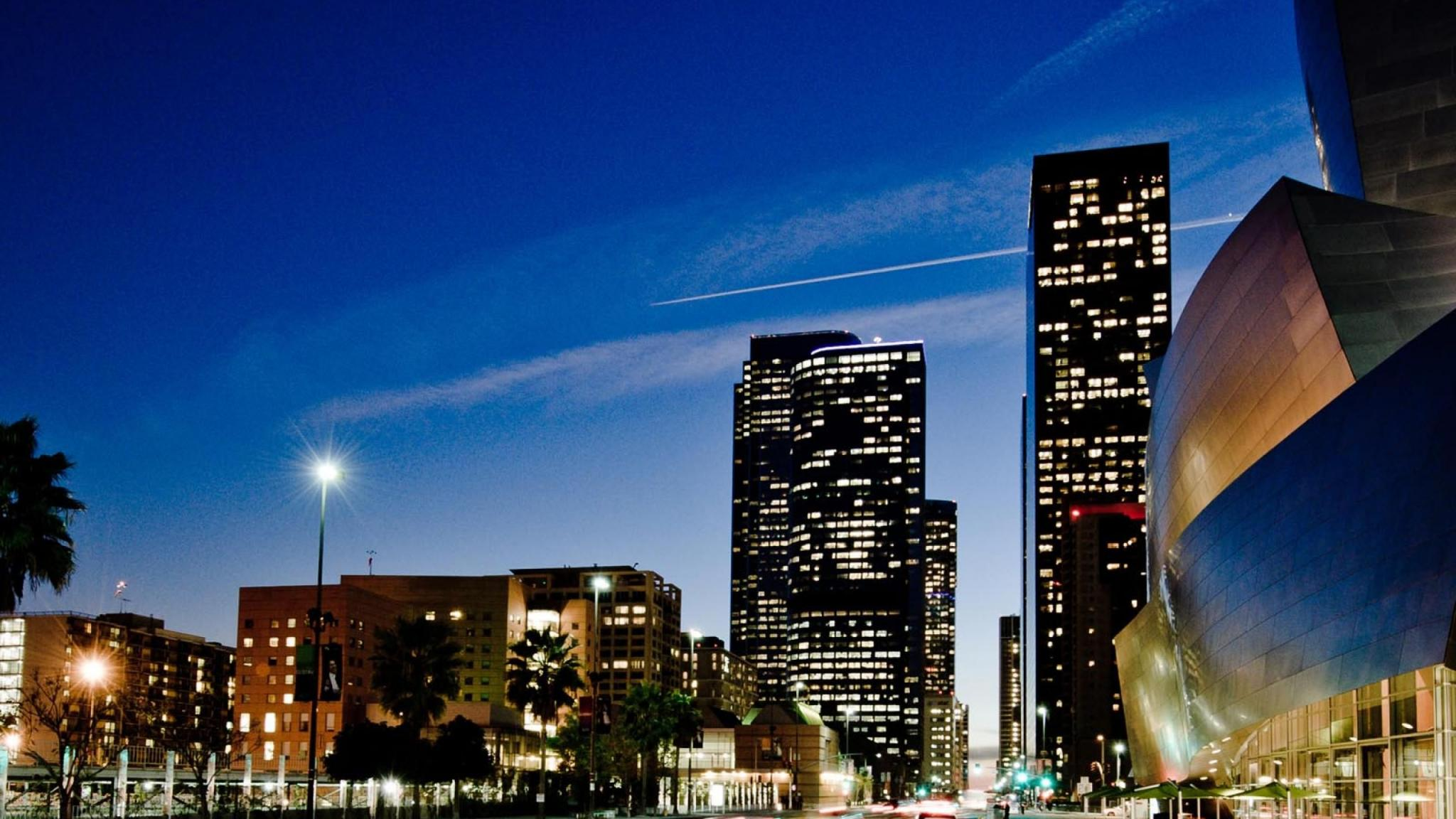 Modern  City  Los Angeles  HD Wallpaper