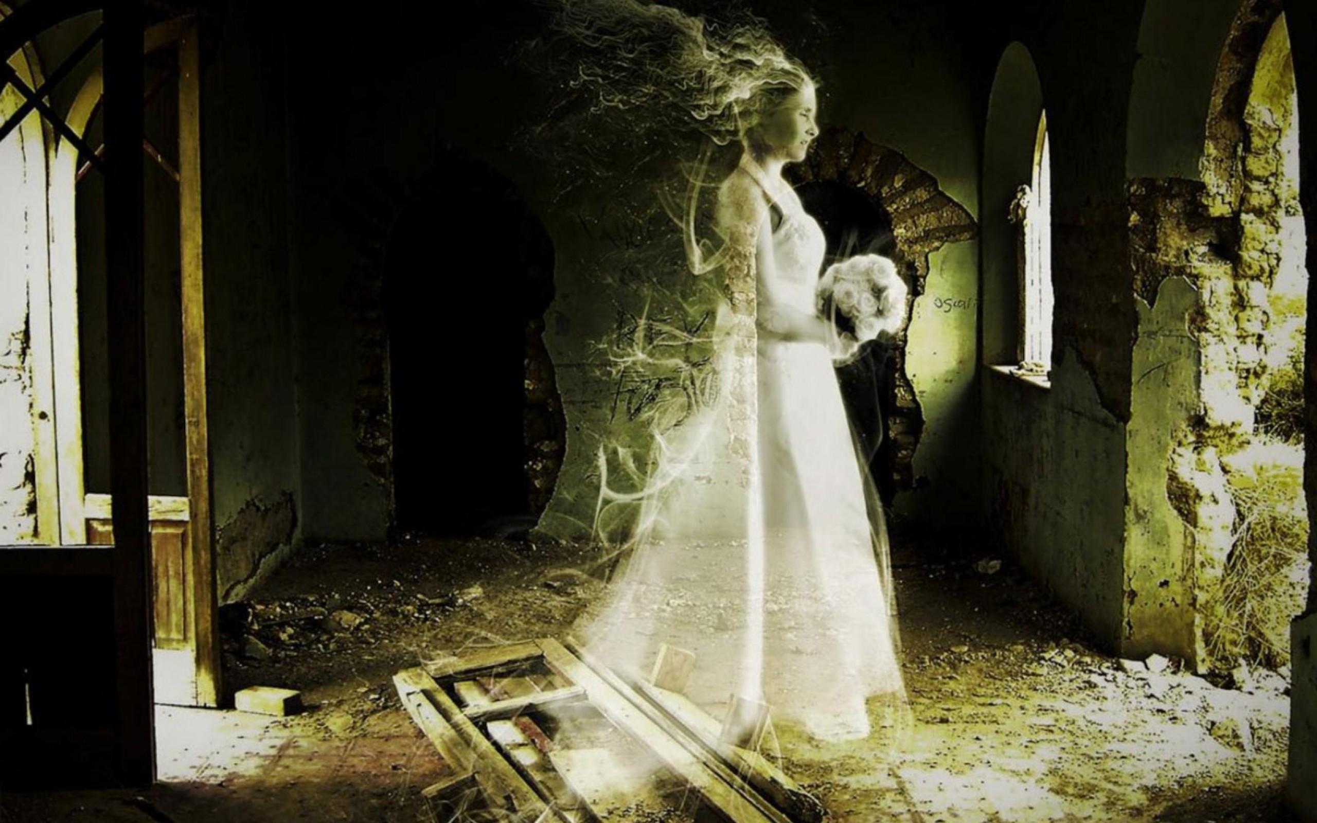 Scary Ghost Bride  bride  HD Wallpaper