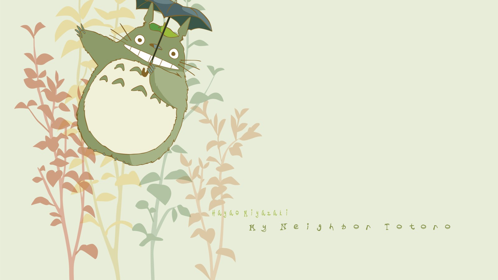 The Cute Totoro Windows 8 HD Wallpaper