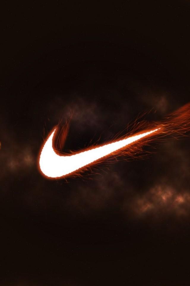 Nike fire logo sports brand HD Wallpaper