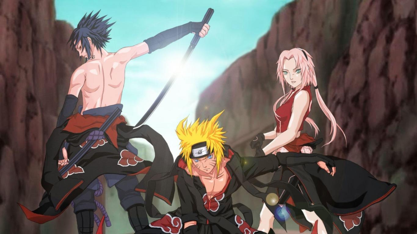 Sakura Uchiha Sasuke Naruto HD Wallpaper
