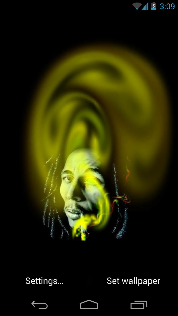 Bob Marley   Live Weed Smoke   Android Apps and Tests   AndroidPIT HD Wallpaper
