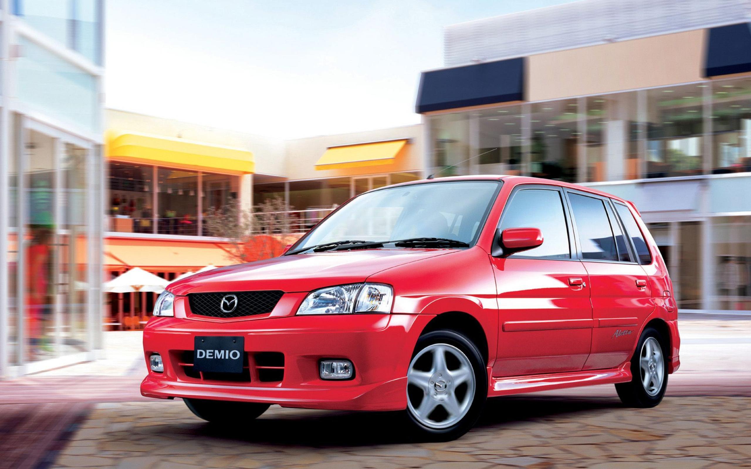 Mazda Demio Aletta HD Wallpaper