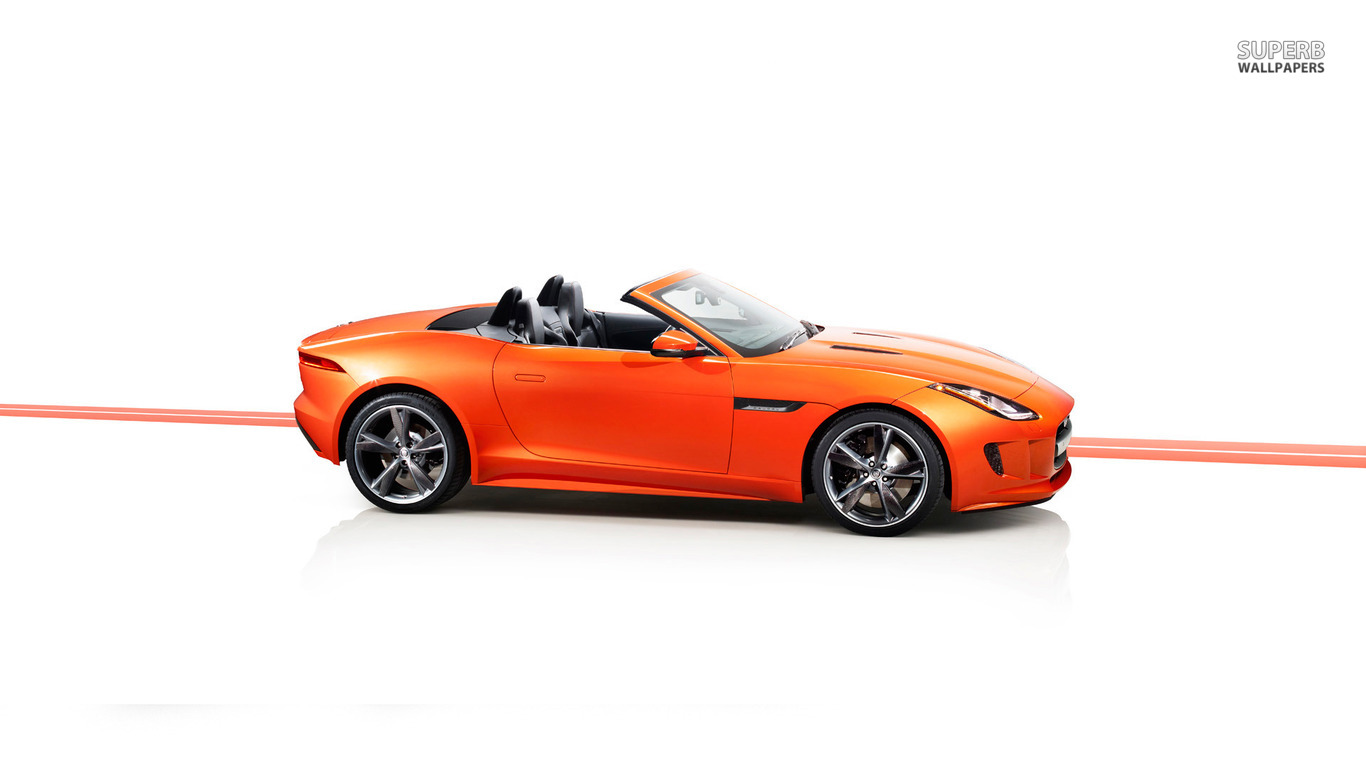 2013 Jaguar F Type Firesand    Car      HD Wallpaper