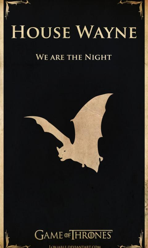 Batman Game of Thrones Style  for Dell Venue Phone HD Wallpaper