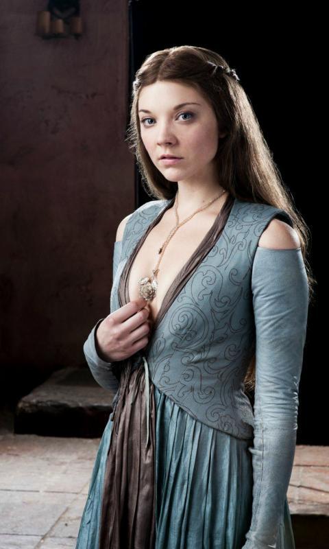 Natalie Dormer   Margery Tyrell on Game of Thrones Mobile Phone HD Wallpaper