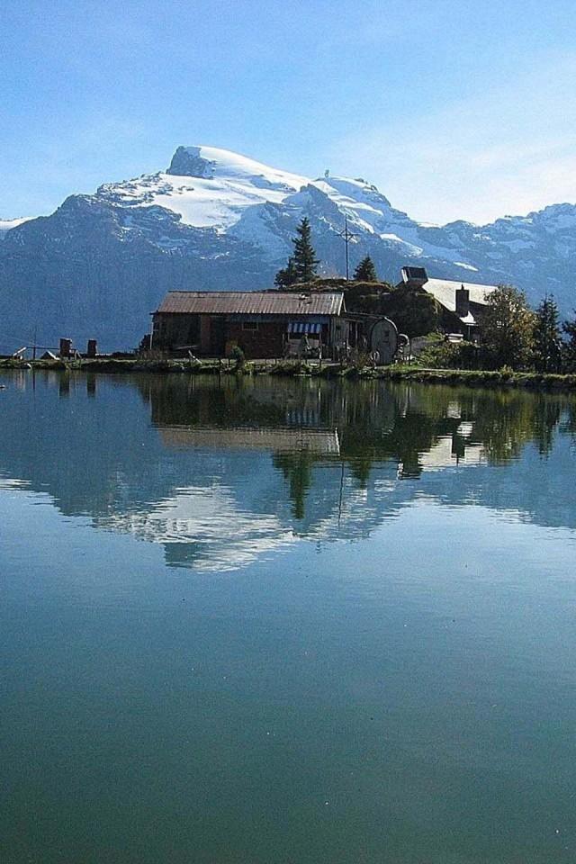 Mount Titlis  Engelberg  Obwalden  Switzerland  Europe   Free HD Wallpaper