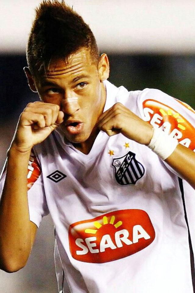Neymar Sao Paulo   Download Blackberry  iPhone  Desktop and HD Wallpaper