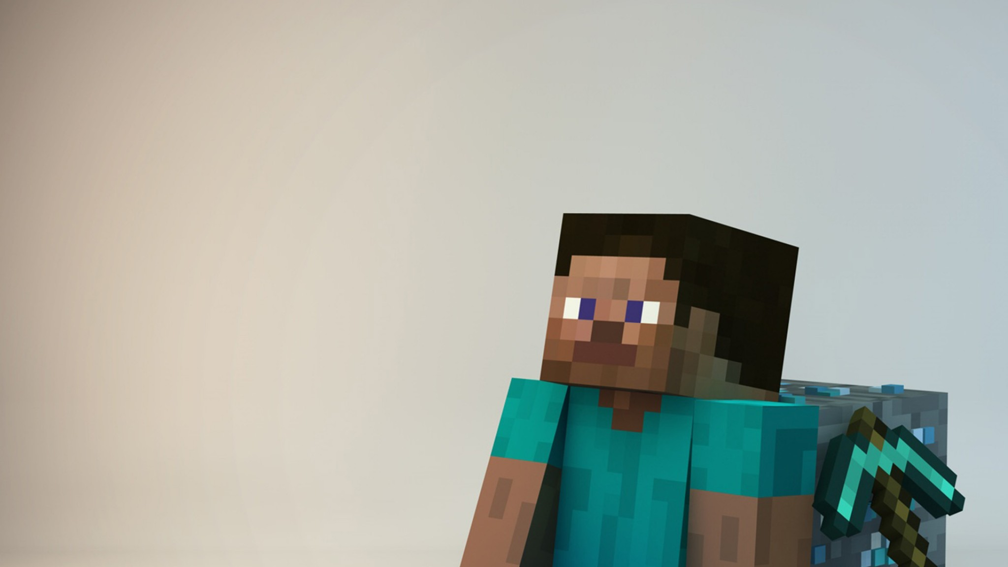 Minecraft Guy    Feed HD Wallpaper