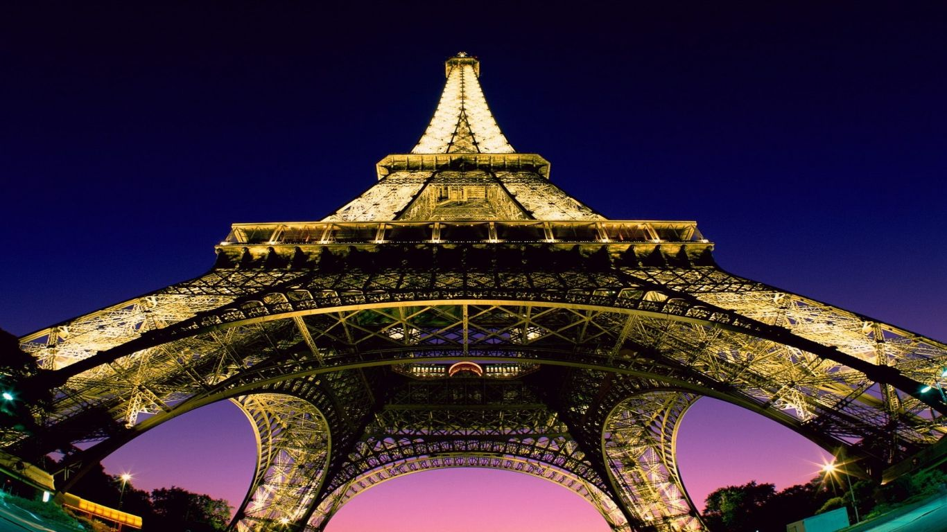 Eiffel Tower Full   Resolution 1366x768   92136 HD Wallpaper