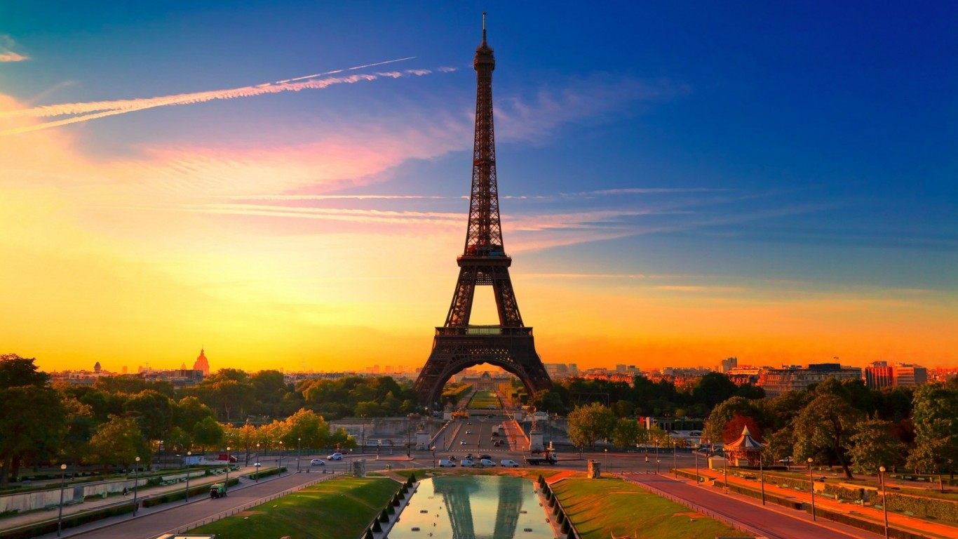 Ifel Tower Paris Wide HD Wallpaper