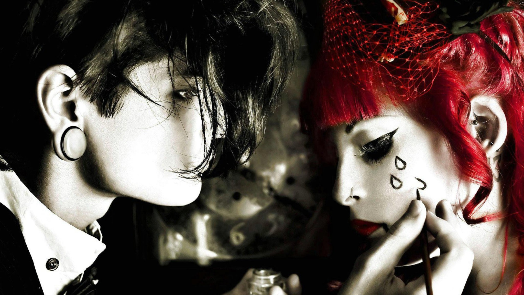 Girls Emo Style    HD HD Wallpaper