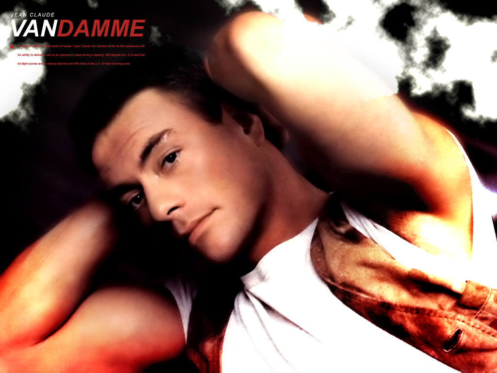 IT S ALL ABOUT HOLLYWOOD STARS  Jean Claude Van Damme New HD HD Wallpaper