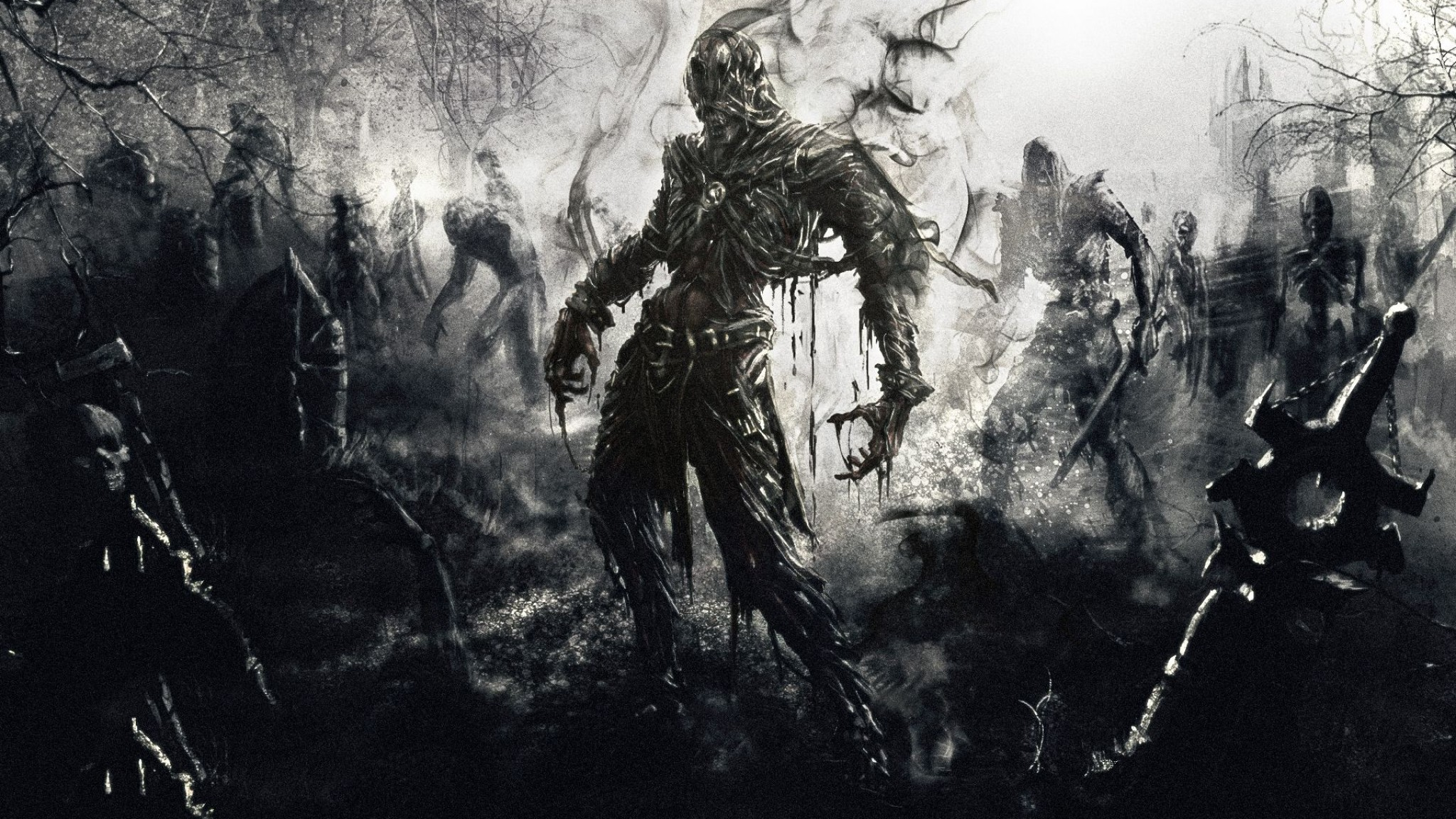 Zombies Fantasy Art Artwork    Design HD Wallpaper