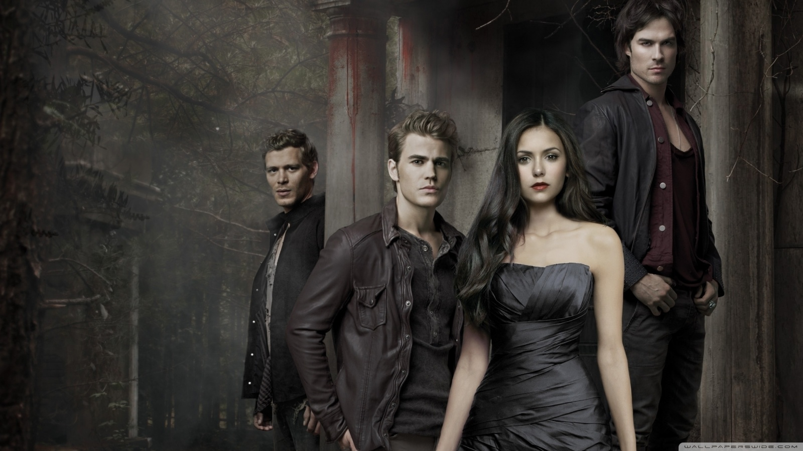 The Vampire Diaries HD desktop    Widescreen   High HD Wallpaper