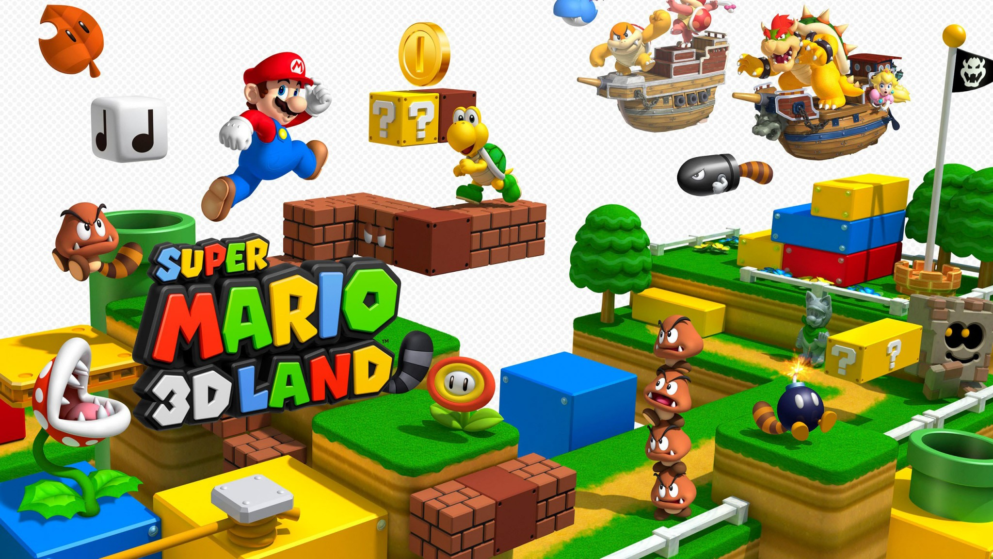 Super Mario  3D  Land   Free HD  HD Wallpaper