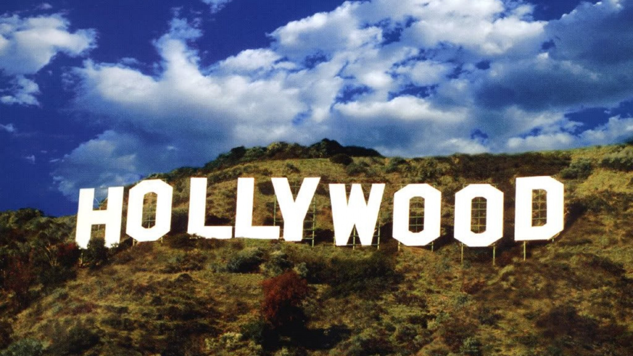 hollywood sign Los Angeles California USA    on line HD Wallpaper