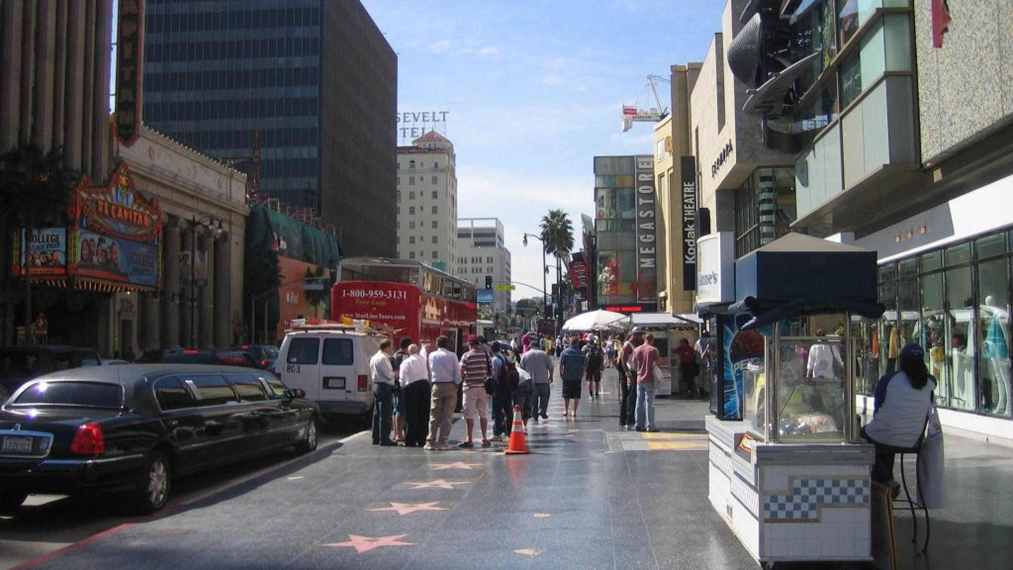 hollywood boulevard los angeles   United States  USA Pictures HD Wallpaper
