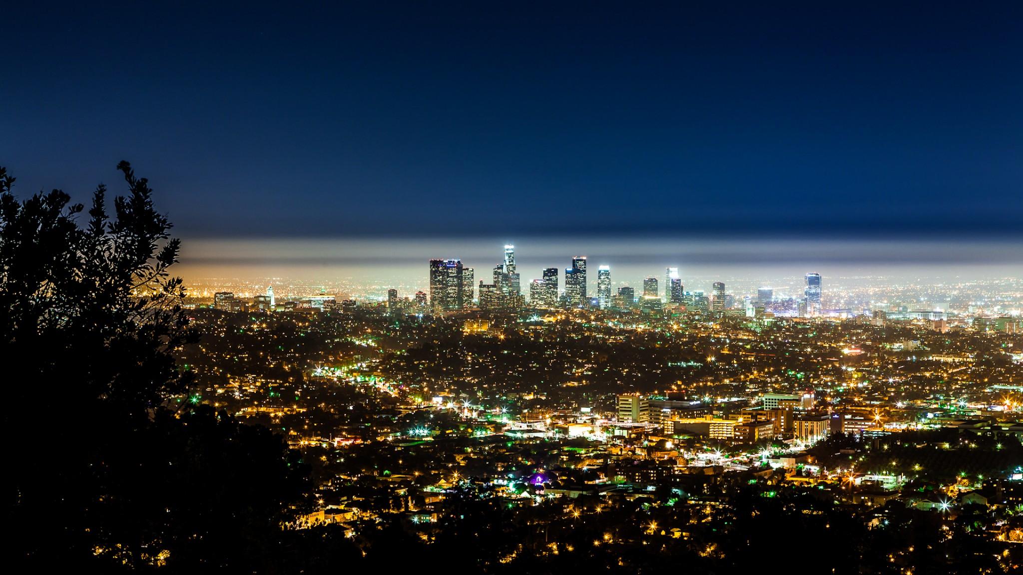 USA  California  Los Angeles  City   Nature   Cities  HD Wallpaper