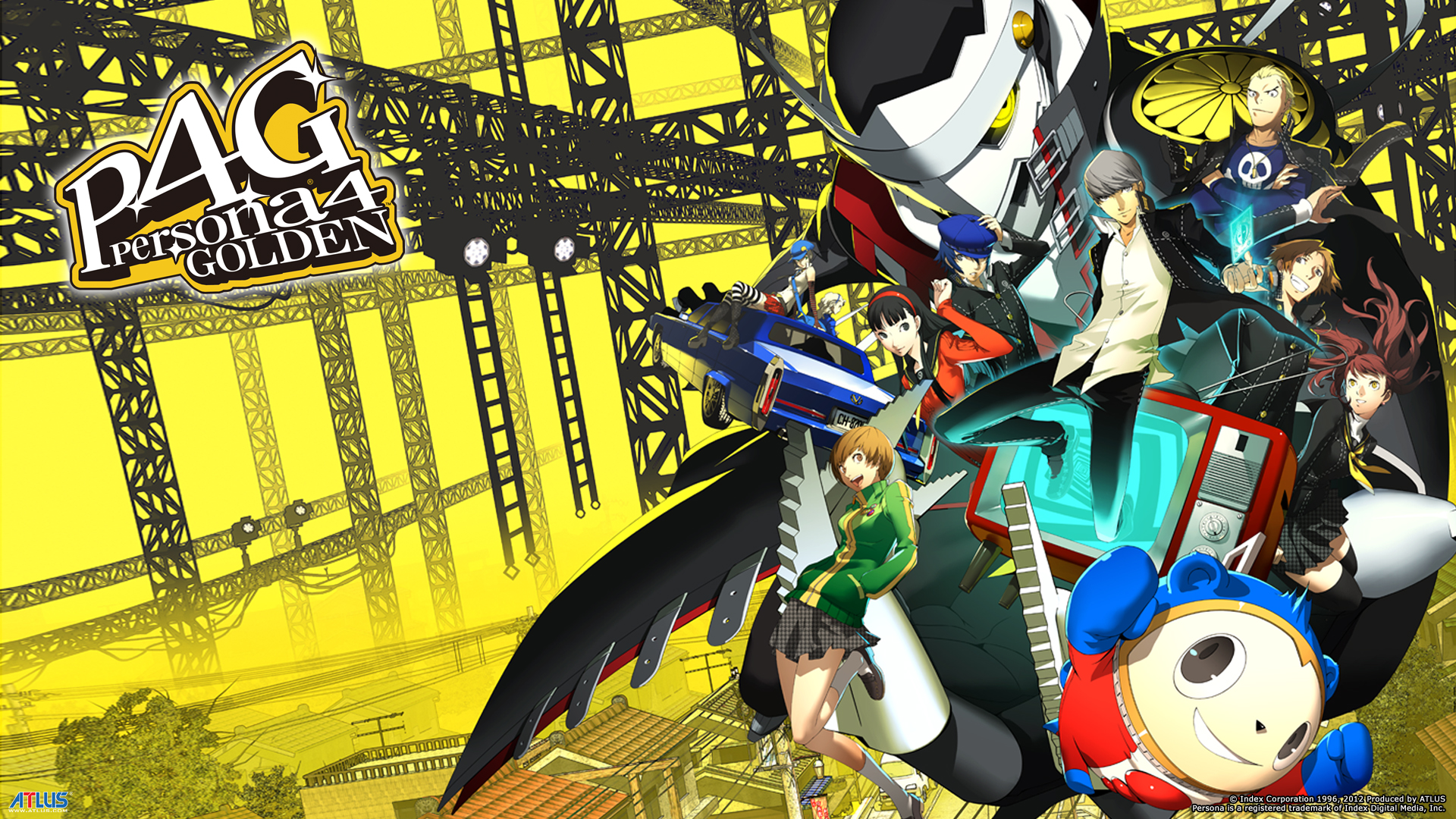 Persona 4 Golden   Recenzja HD Wallpaper
