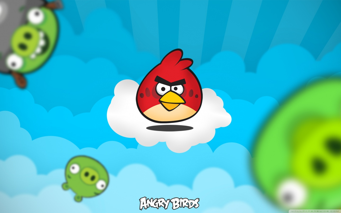 Angry Birds HD desktop    Widescreen   High Definition HD Wallpaper