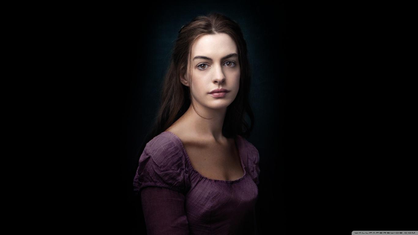Les Miserables   Anne Hathaway as Fantine HD desktop  HD Wallpaper