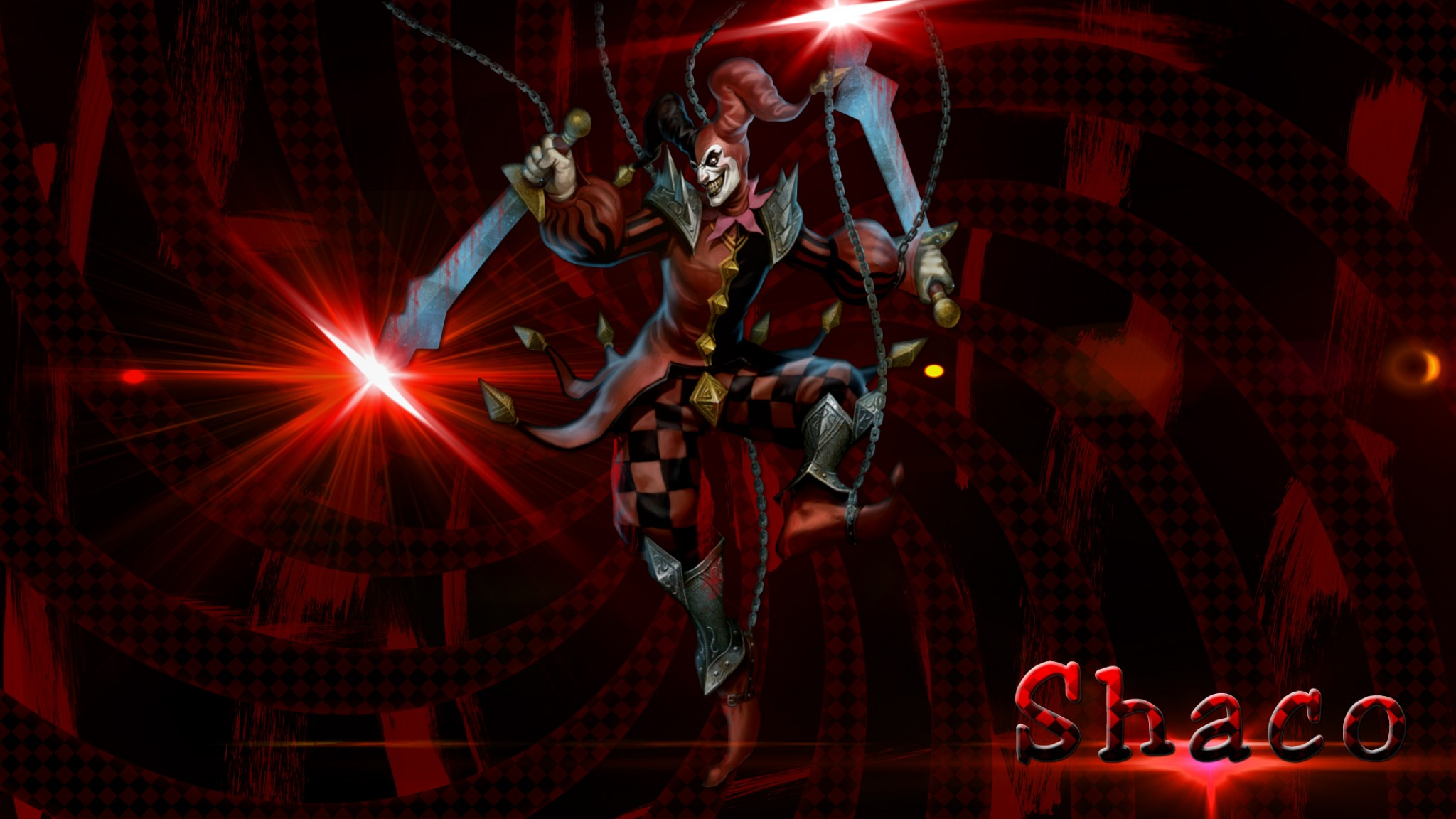 league of legends shaco    online HD Wallpaper
