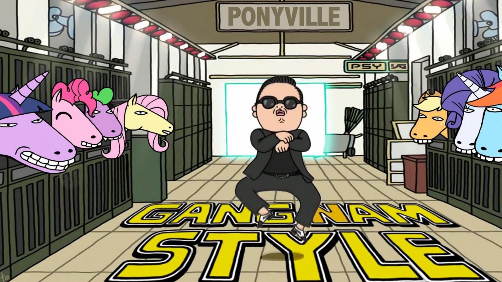Gangnam Style Psy Korean Best Hot Music Anime    Design HD Wallpaper