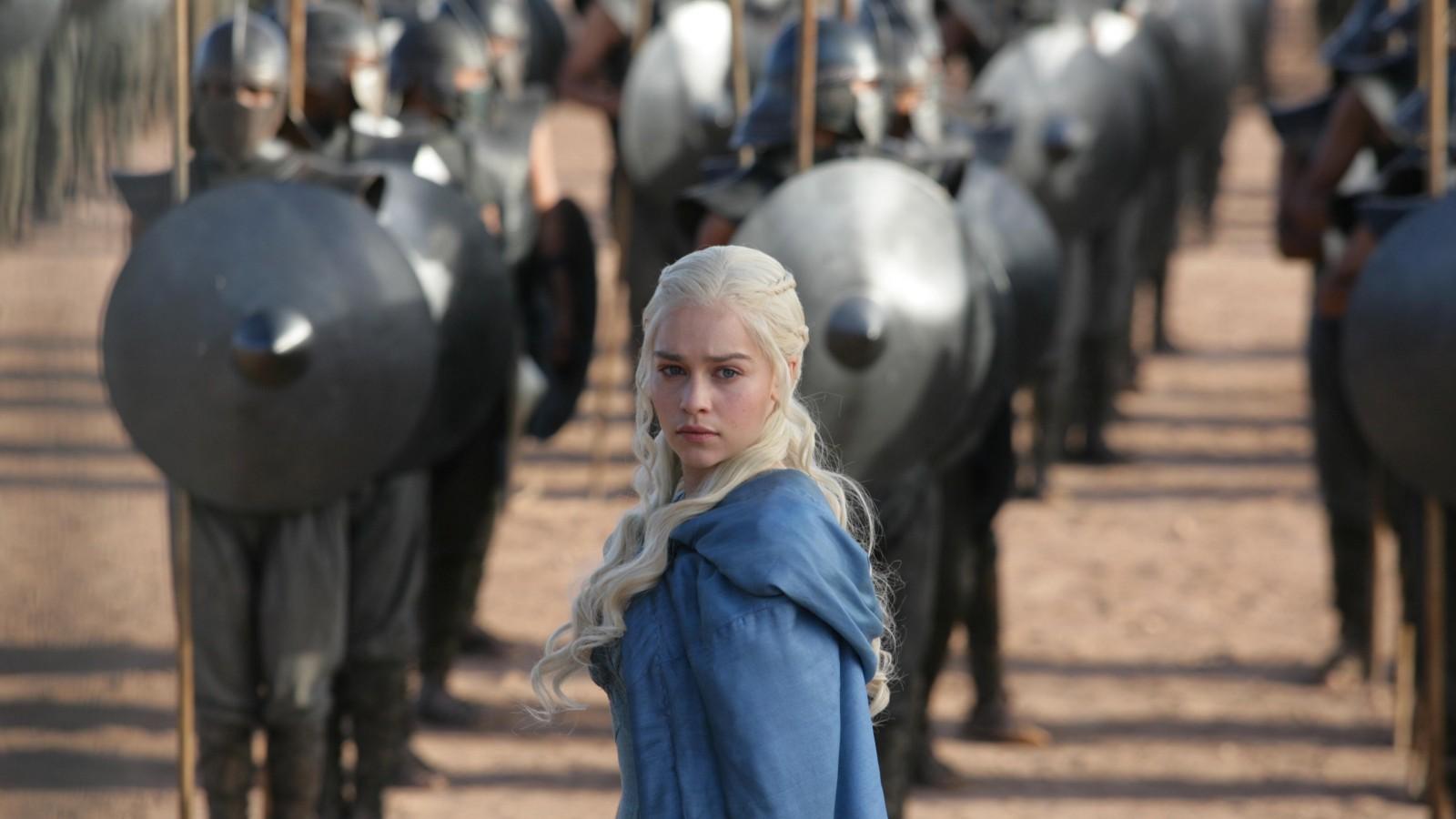 Daenerys Targaryen and the army   Game of Thrones   HD Desktop HD Wallpaper