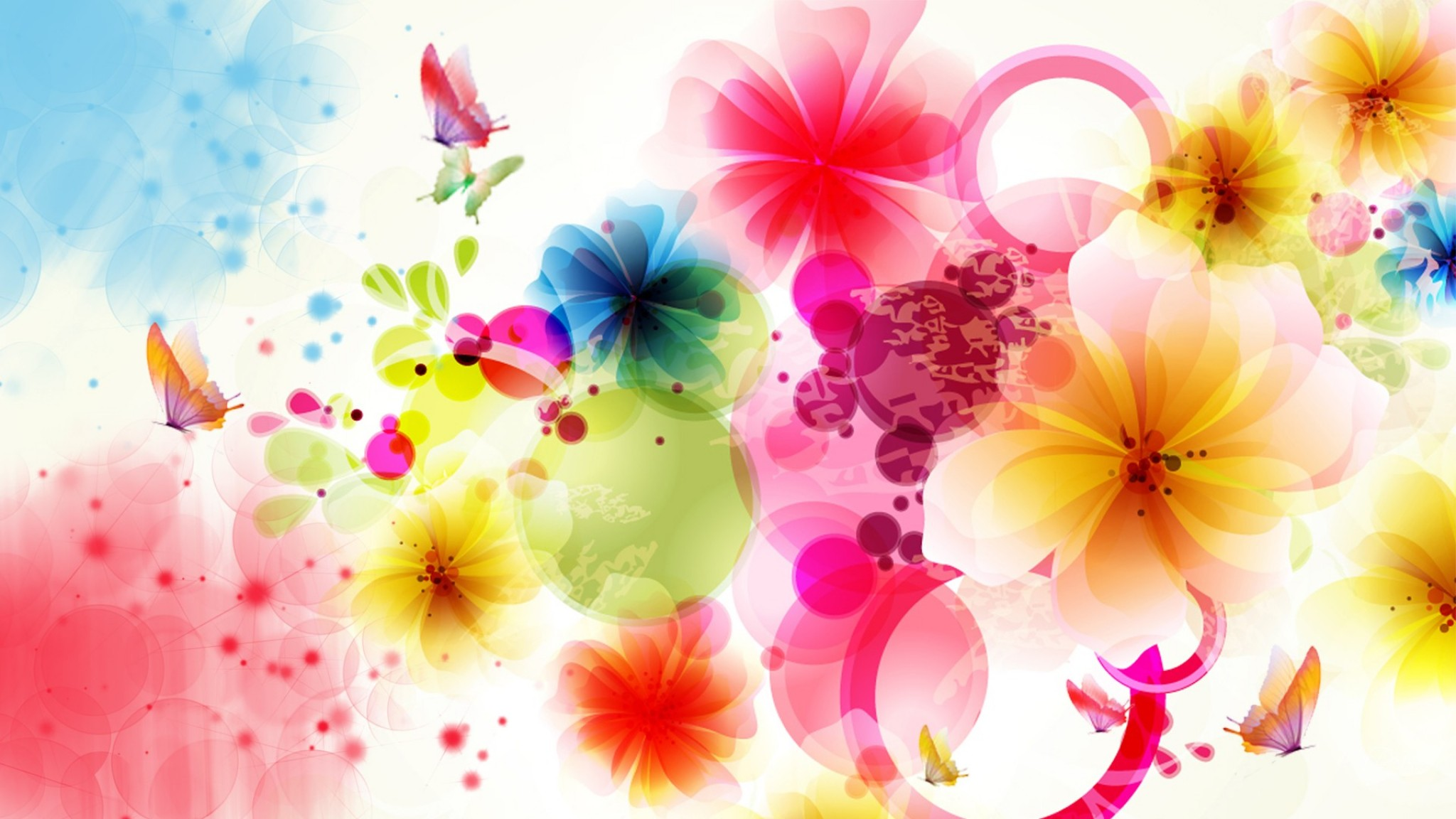 exotic abstract floral    online HD Wallpaper