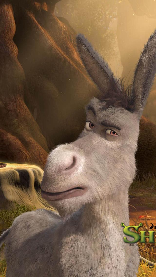 Donkey  Shrek Forever After 01   HD iPhone  HD Wallpaper