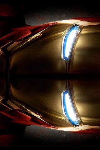Iron Man Helmet   HD iPhone  HD Wallpaper