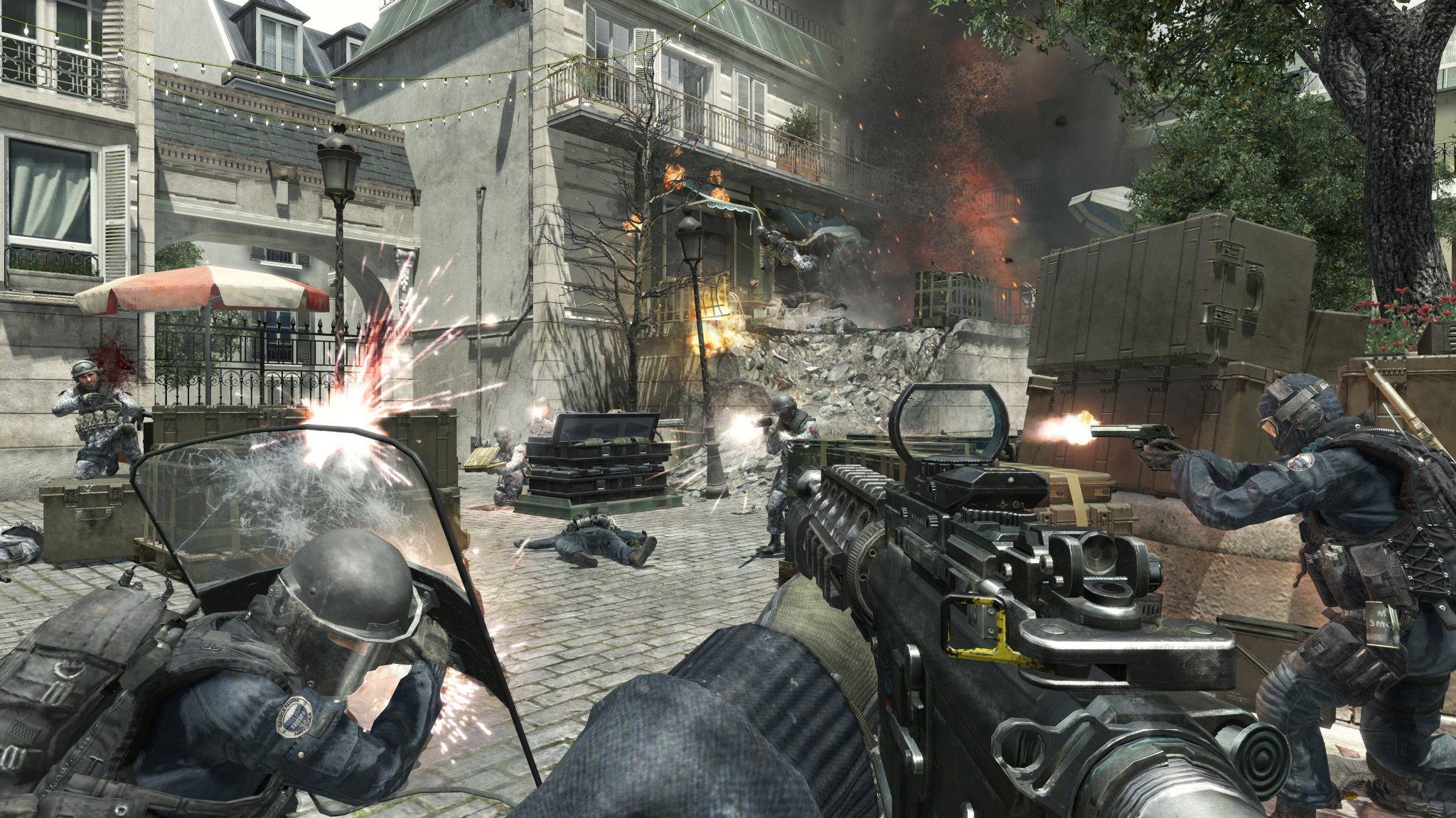 Test de Call of Duty   Modern Warfare 3 HD Wallpaper