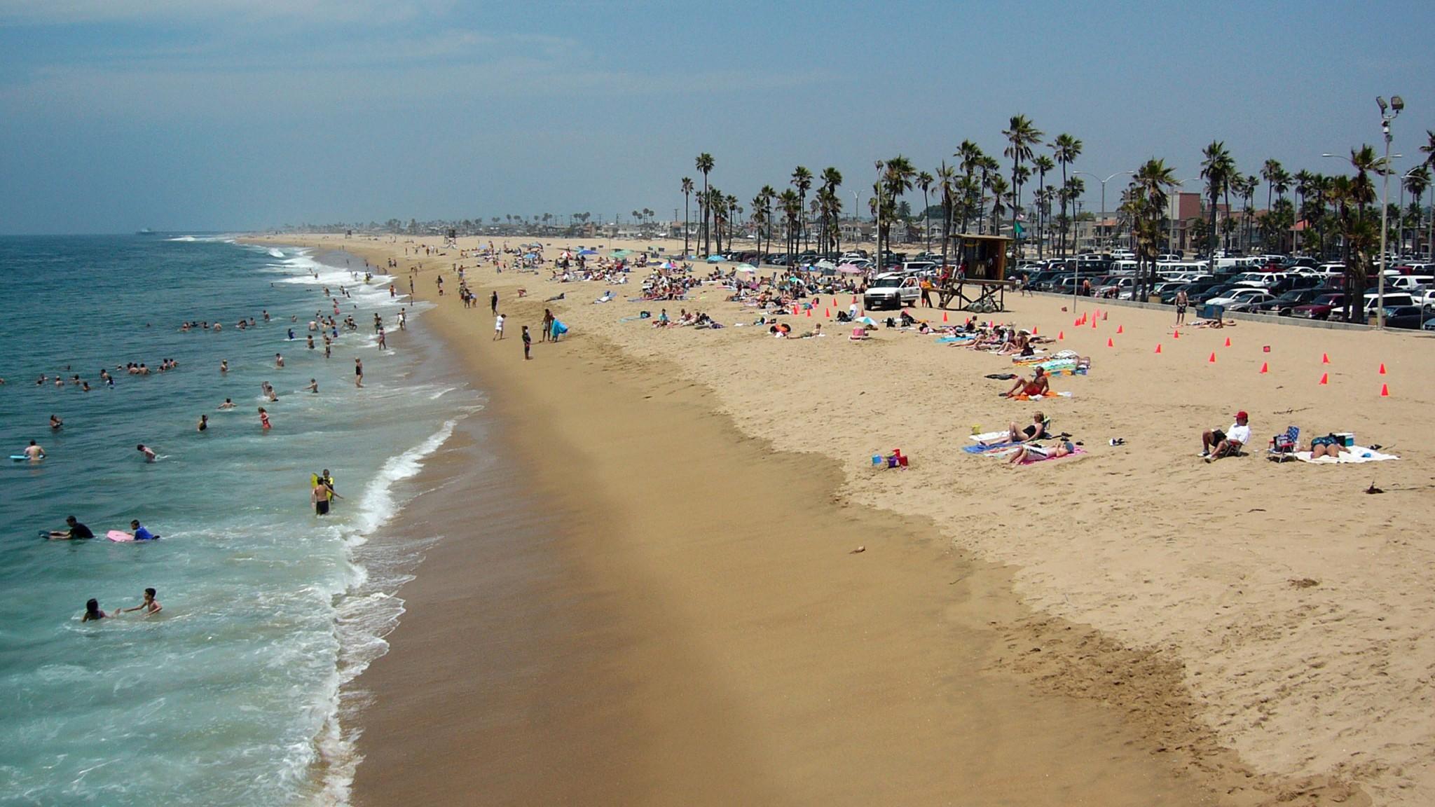 Santa Monica Beach Los Angeles   HQ  for PC HD Wallpaper