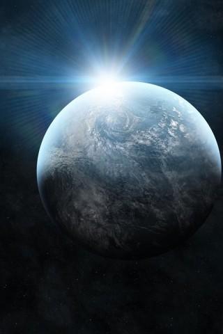Light Abstract Stars Galaxies Planets   Desktop  free HD Wallpaper