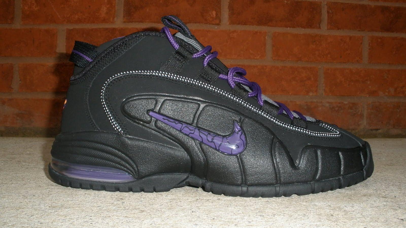 Bama Kicks  Nike Air Max Penny Black Purple In Stock HD Wallpaper