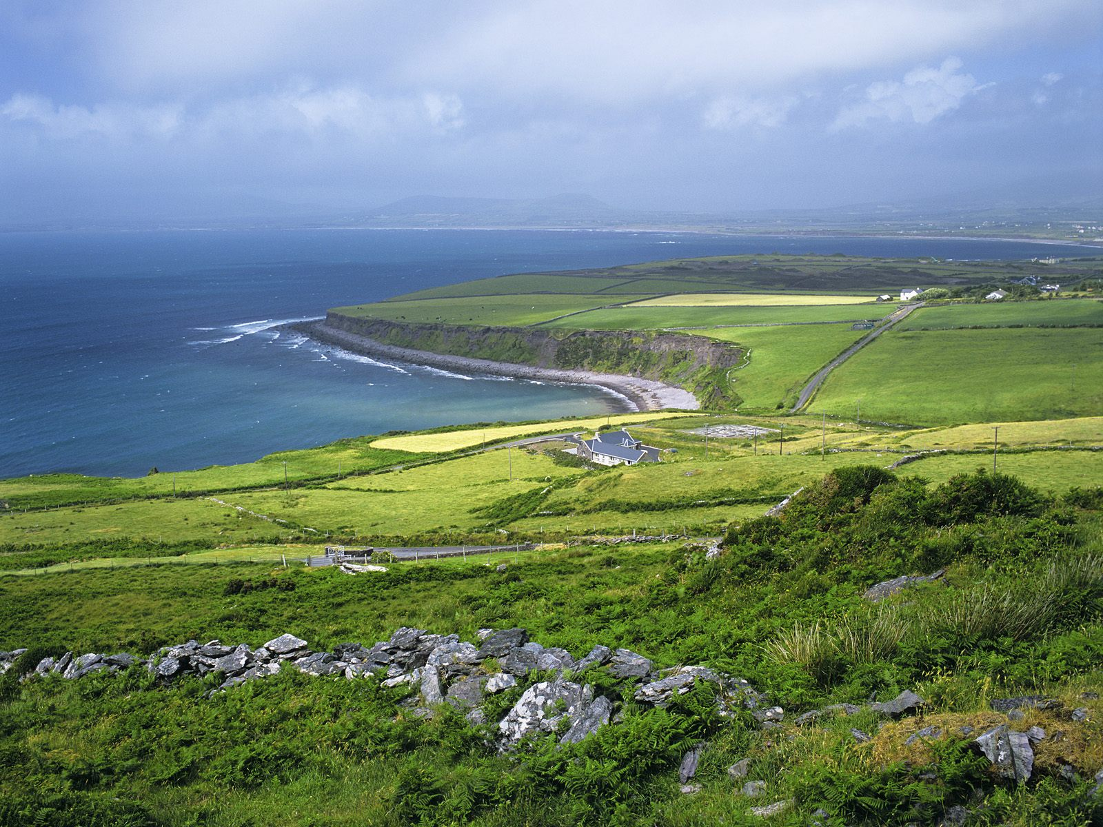 Beautiful Countries  Green Ireland Theme HD Wallpaper